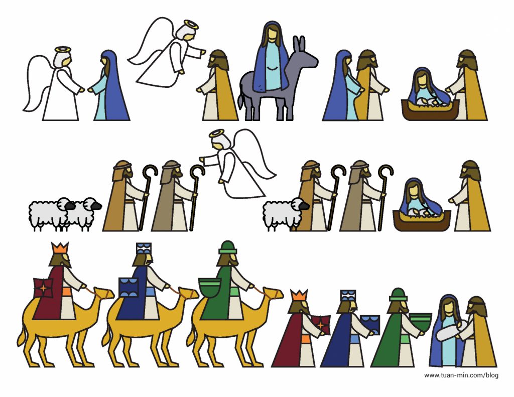 Printable Nativity Advent Calendar/page/2 | New Calendar Template Site