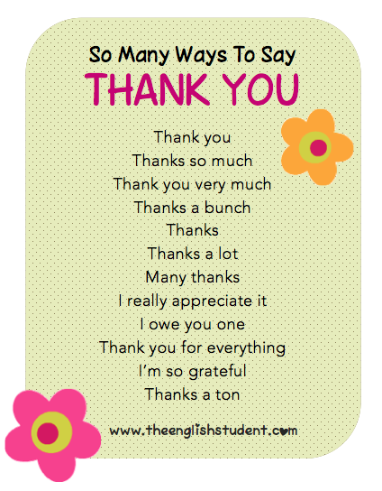 letter to say thank you for help