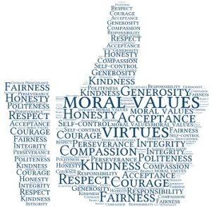 How important moral values are for you in today's world